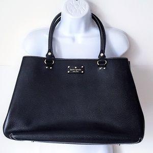 Kate Spade Leather Wellesley Fallon Tote Bag Large